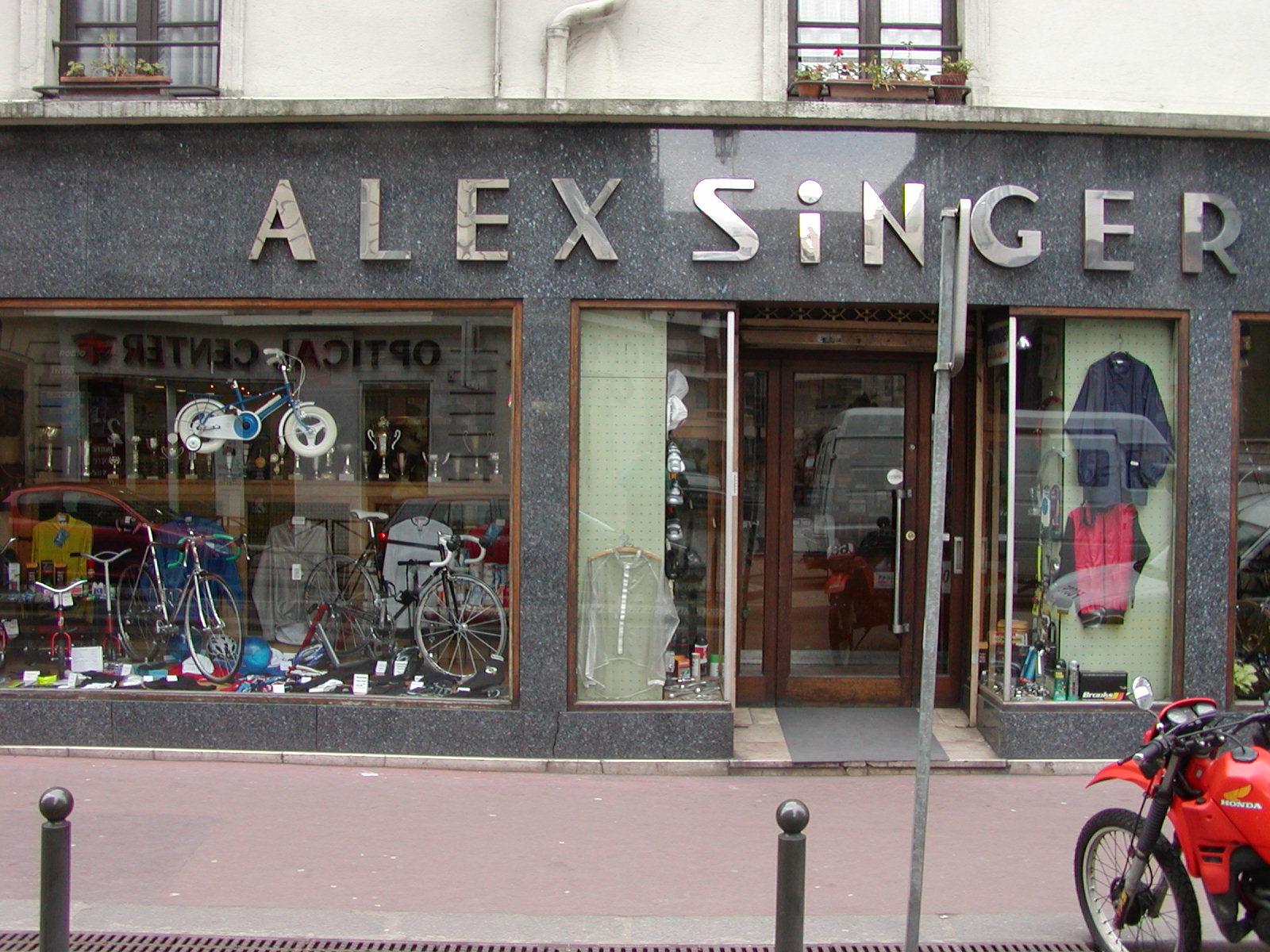 Alex singer shop